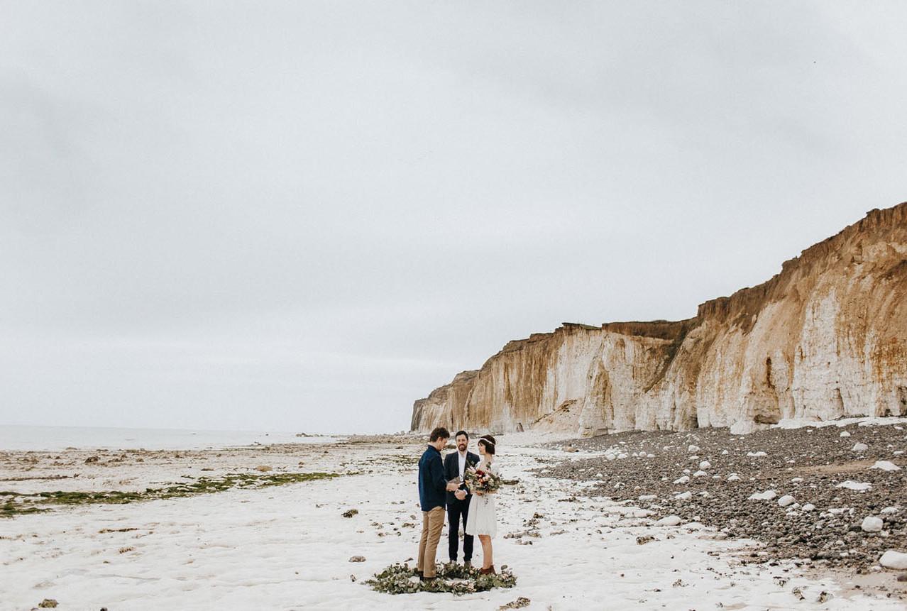 Elopment: sposi sulla spiaggia della Normandia