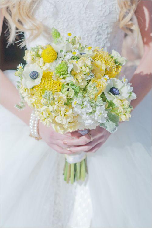 Matrimonio dolci come il miele: bouquet anemoni