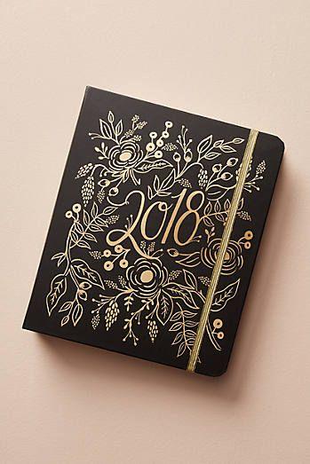 10 Idee regalo di Natale per la sposa: Agenda Planner 2018