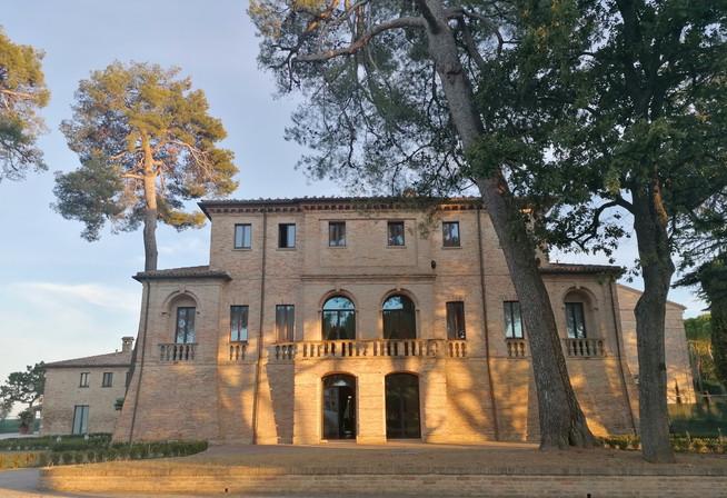 Villa Berloni facciata anteriore