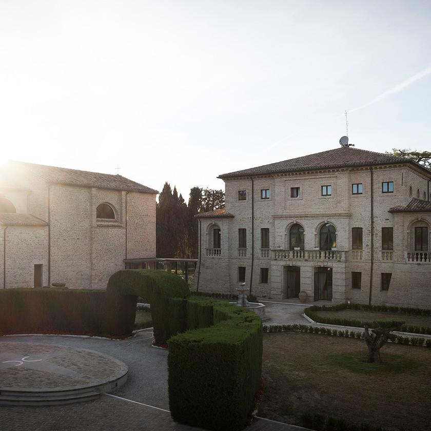 Villa Berloni anfiteatro