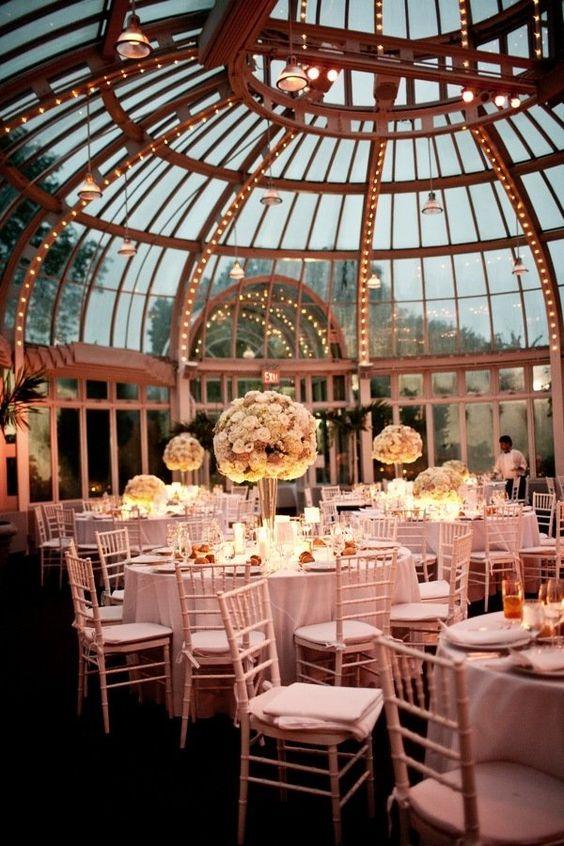 Linee guida per la ricerca della location perfetta: The Palm House at the Brooklyn Botanic Garden