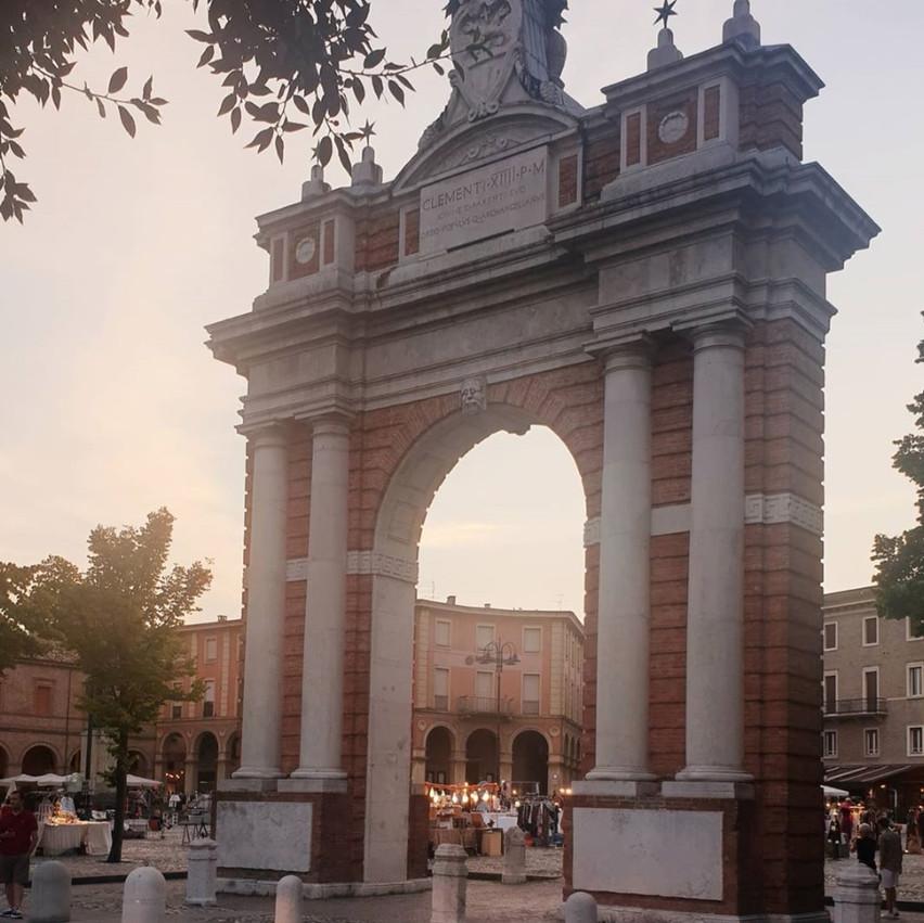 Arco della Festa dei Becchi