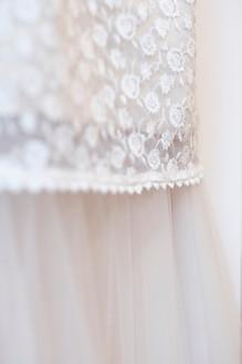 Bianca Collezione sposa dettaglio pizzo abito