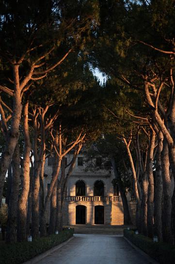 Villa Berloni viale