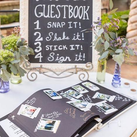 Guestbook: un indimenticabile ricordo da parte degli invitati