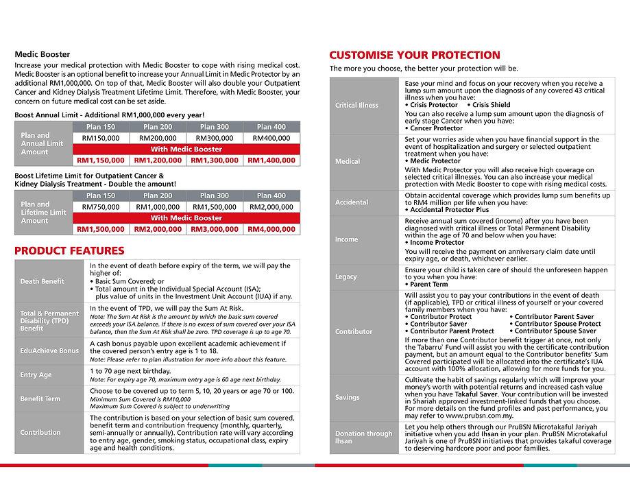 Medic Booster AnugerahPlus_Brochure(ENG)