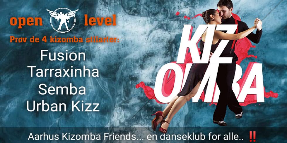 Walk In Kizomba - open level