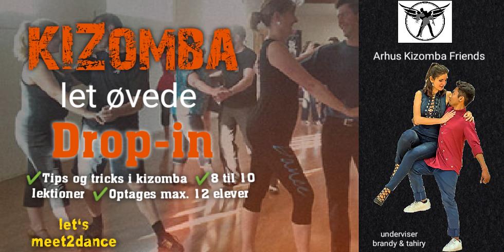 Tir 18.00-19.00 Kizomba Drop-In - for let øvede