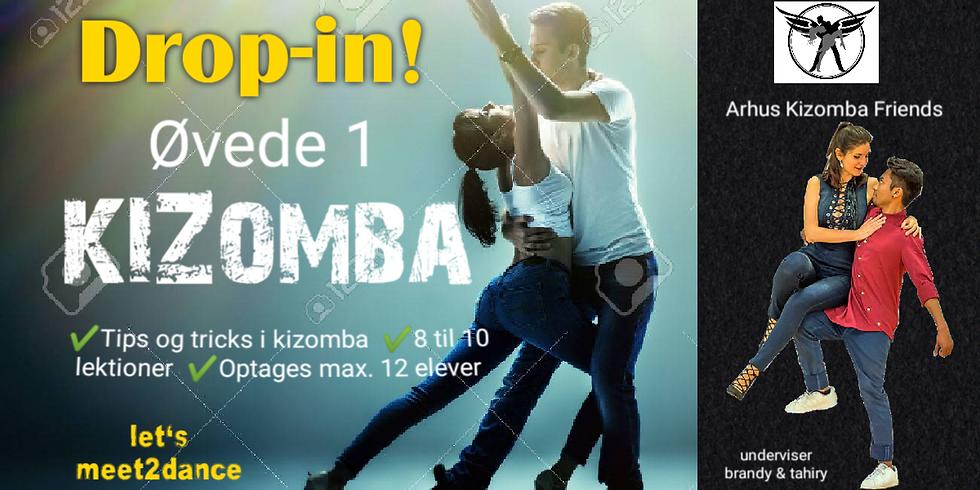 Tir 19.00-20.00 Kizomba Drop-in for øvede 1 (tilmeldes single og par)