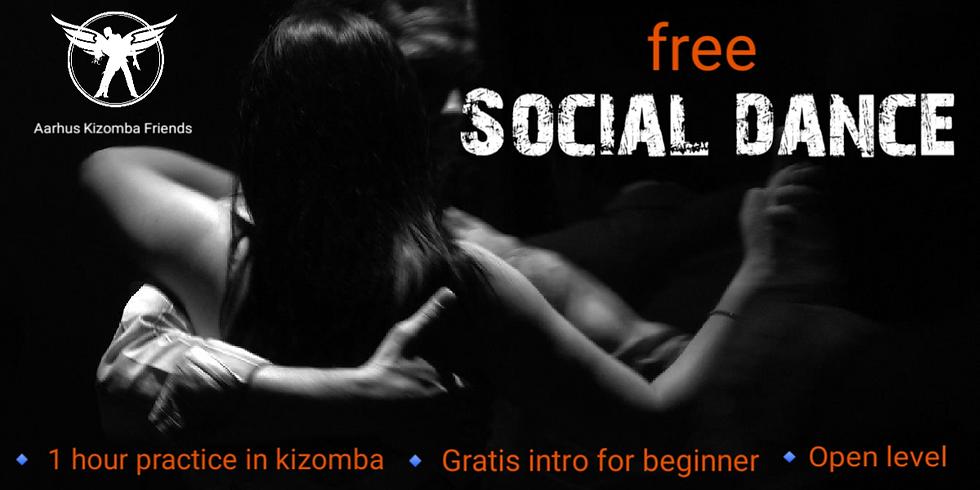 Tir 20.00-21.00 Free social dance (drop-in-kizomba)