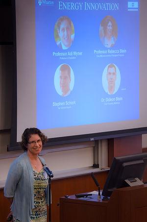 Prof. Rebecca Stein