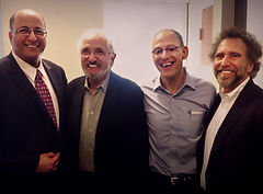Ambassador Ido Aharoni, Prof. Jerry Wind, Prof. Ezekiel Emanuel,  and Prof. David J. Reibstein