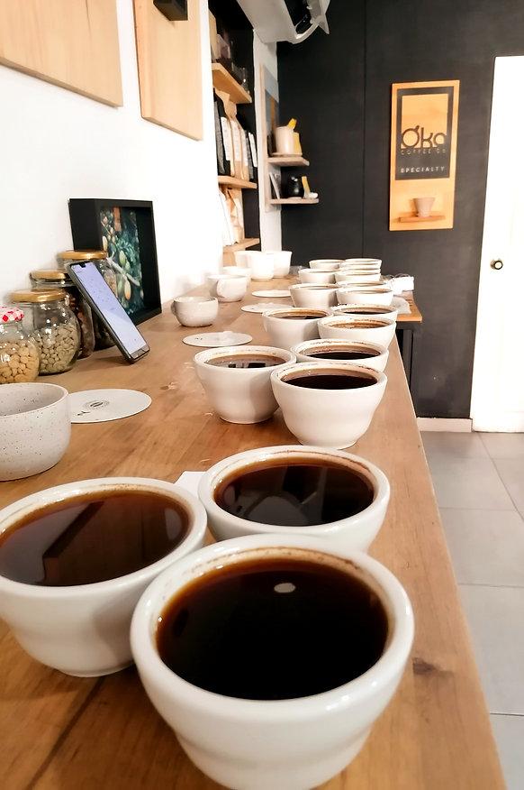 Cupping für Qualitätssicherung