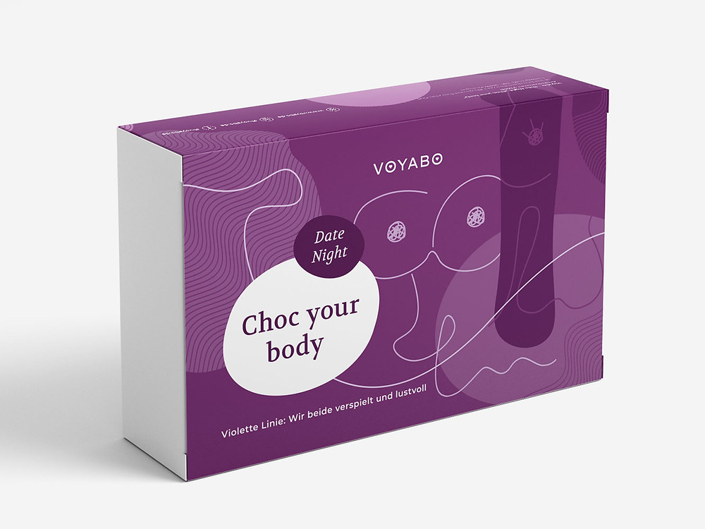 Der Paarabend in der Box: Choc your body