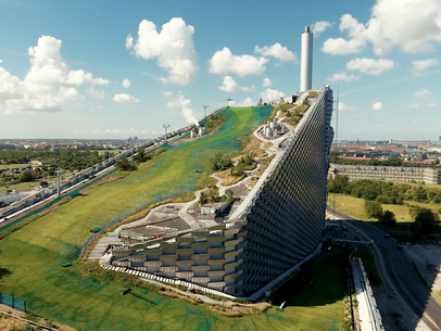 Great sustainability project - Copenhill