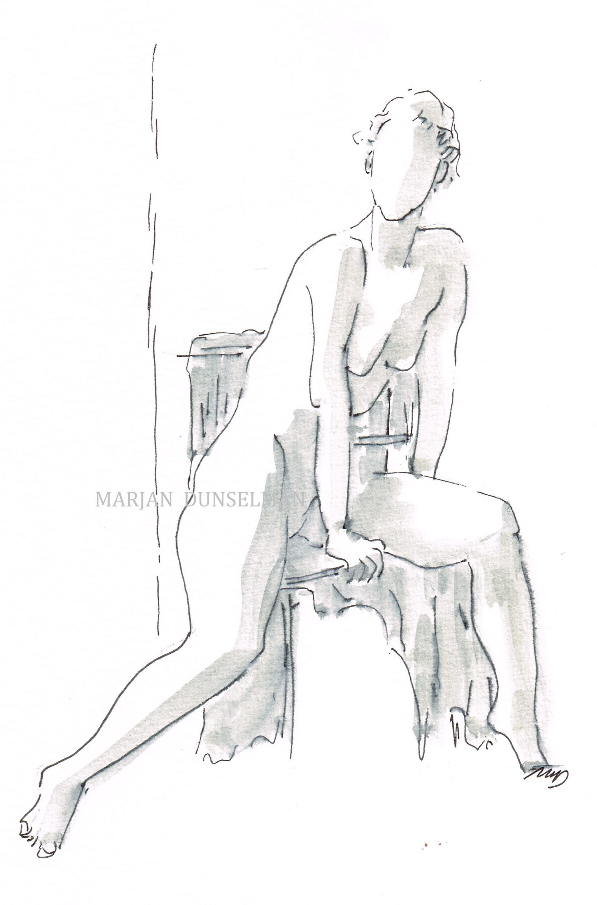 nr. 88, uit de serie 'lichaamstaal'