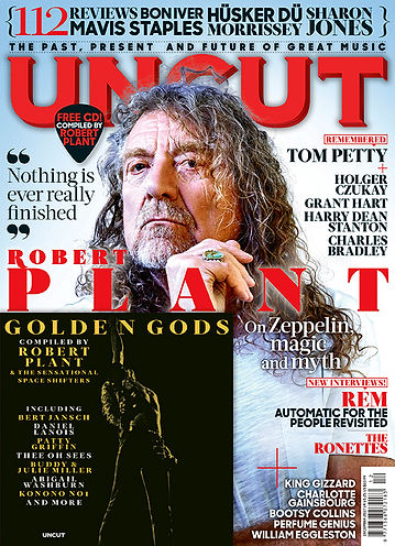 Robert Plant's Golden Gods Compilation for Uncut Magazine including Rocco DeLuca's Goodbye To Language