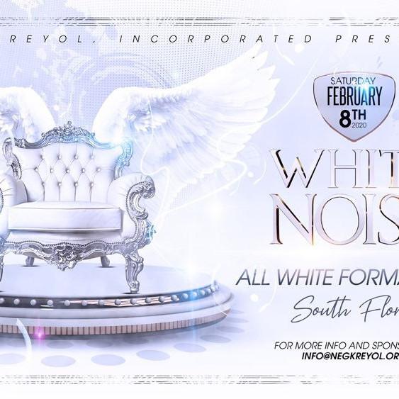 White Noise All White Formal Gala