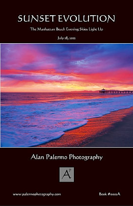 Manhattan Beach Sunset Evolution