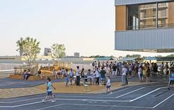 Inauguration Ecole au Rionzi
