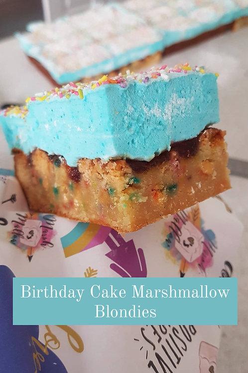 Marshmallow Blondies (2 pcs) - Various Flavours