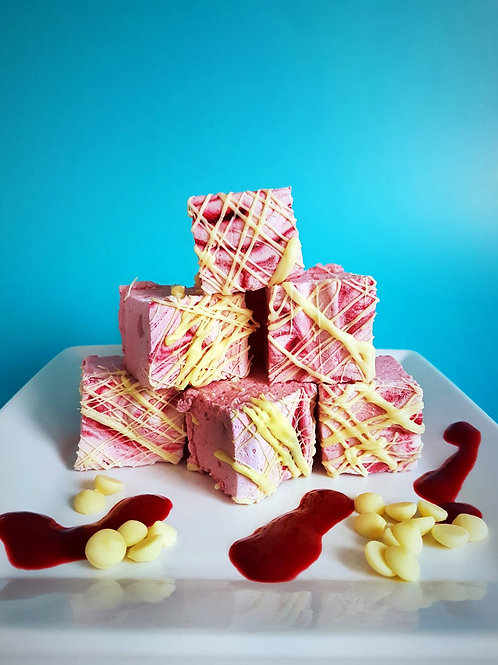 Raspberry & White Chocolate Gourmet Marshmallows