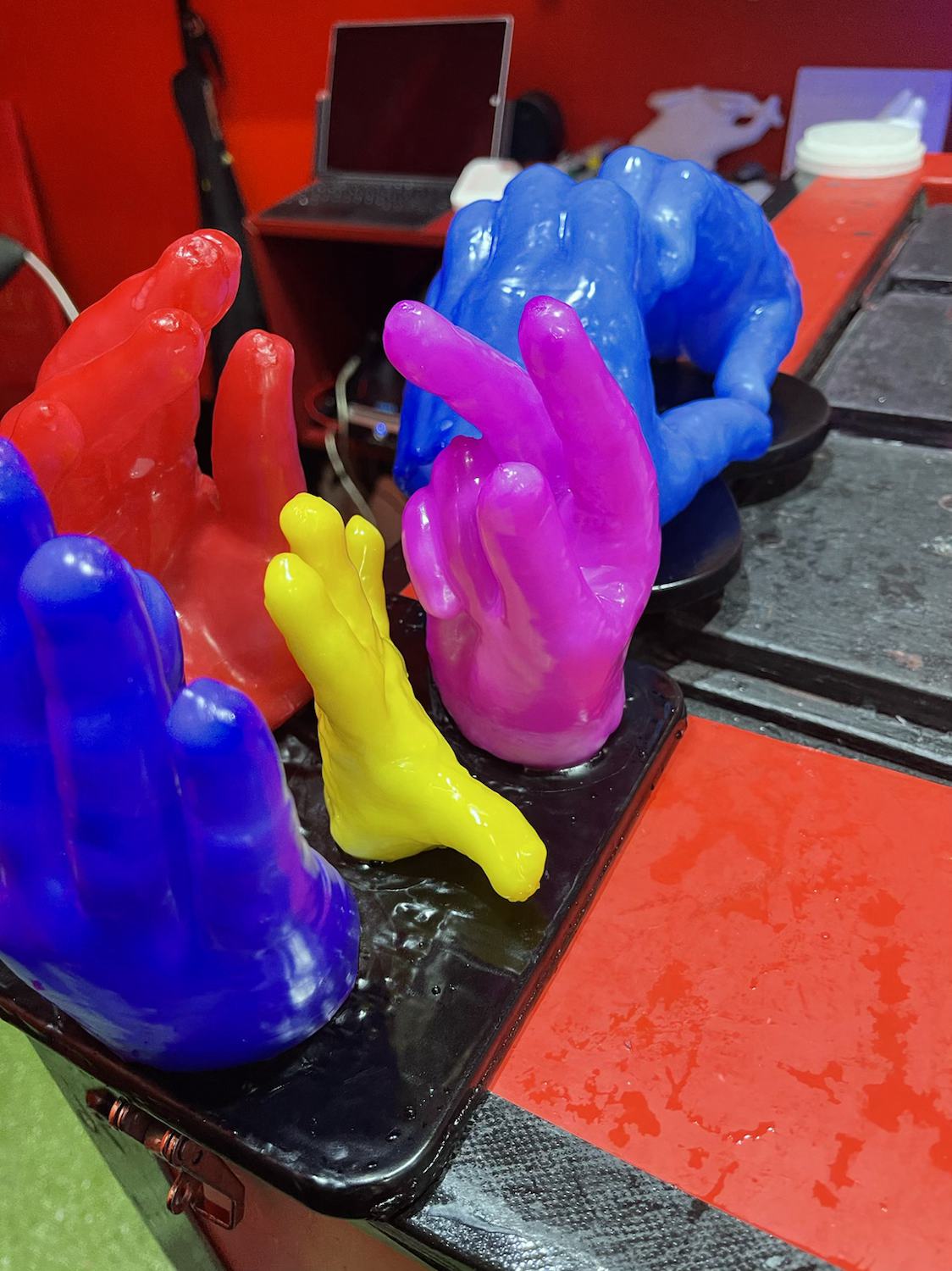 Book a time to Make a Waxhand!