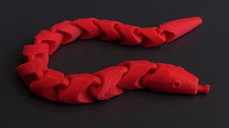 Slider Snakes 3D Fidget Toy