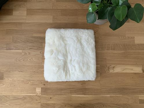 Alpakka skinn/ sitteunderlag (40x40cm)
