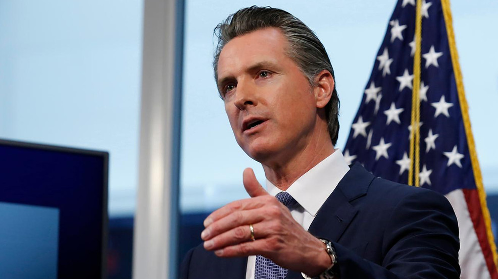 Governador Gavin Newsom
