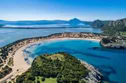 Voidokoilia Beach - Navarino Bay ,Pelos Area - Greece Mainland