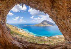 "The famous ""Grande Grotta"" in Kalymnos i"