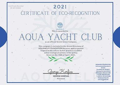 Greek Greek Company Certificate