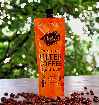 Trelish Filter Coffee Brew Standee Pouch