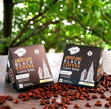 Trelish Americano Black Coffee Brew - Box of 2