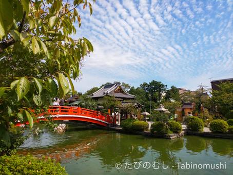 秋空と神泉苑/Autumn Sky And Shinsen-en