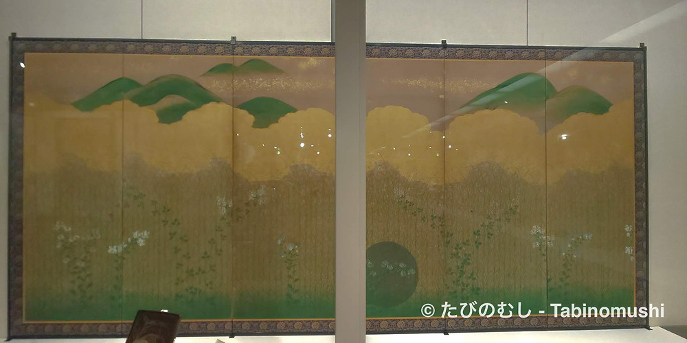 屏風/ Byobu folding screen