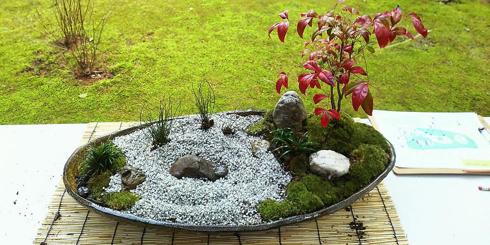 【スペシャルイベント】自分だけのミニチュア日本庭園のデザインと作り方体験