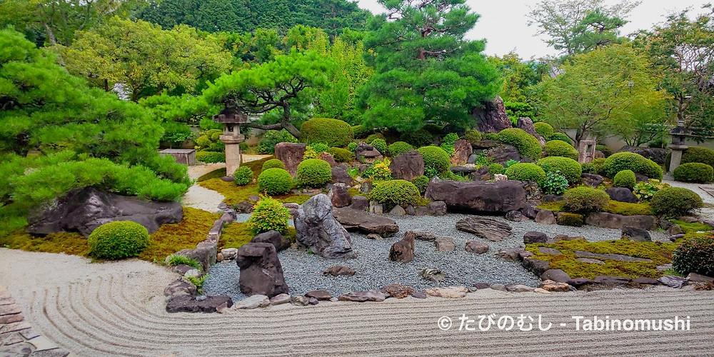 妙満寺雪の庭/ Myomanji