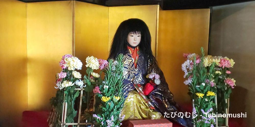 菊慈童人形/ Kikuzido doll