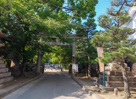 藤森神社の「あじさい祭」へ/Fujinomori Shrine Visit with Students