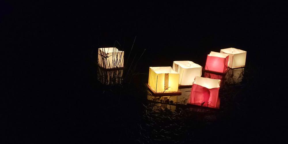 灯篭流し/ Lantern float