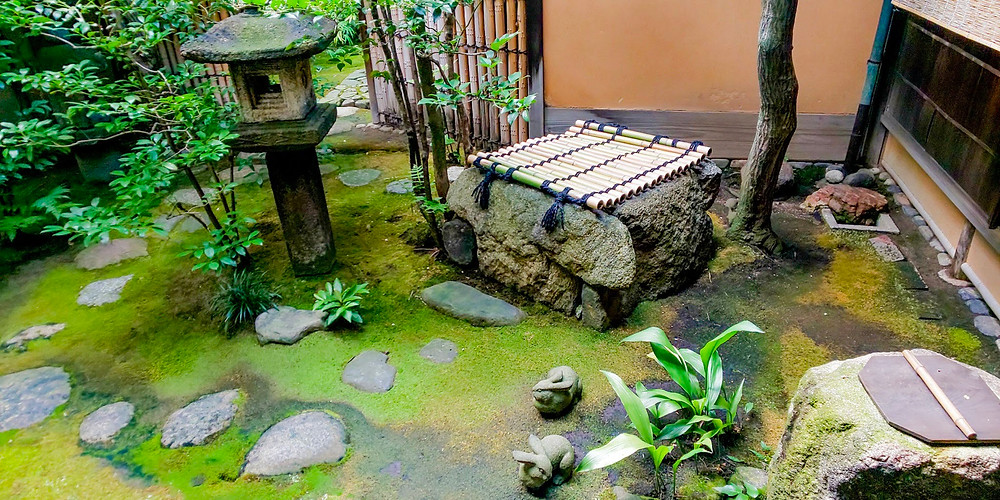 杉本家住宅の中庭/ Japanese courtyard