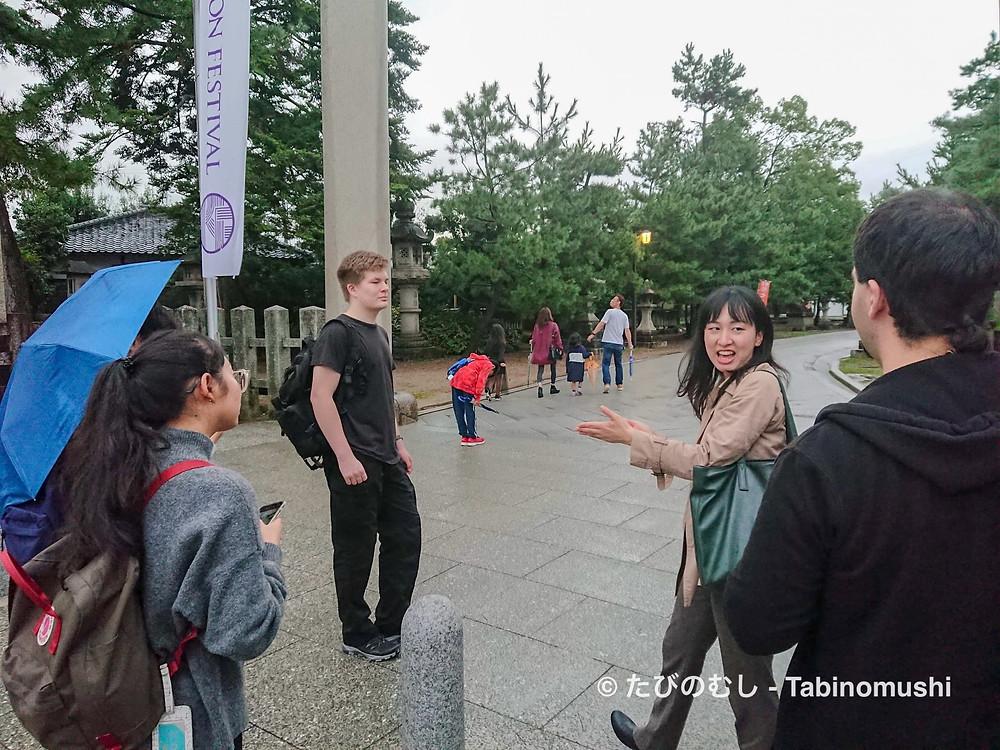 通訳案内士/ English tour guide