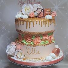 FaultLine Drip Cake