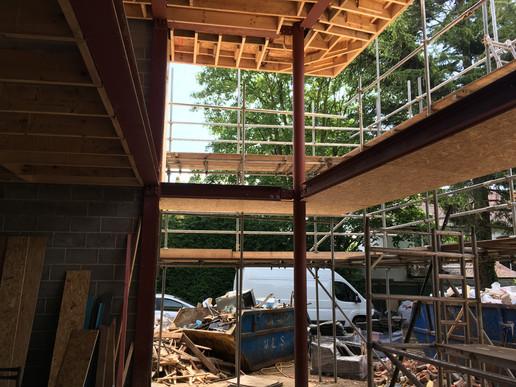 #swishonsite #steel #canopy