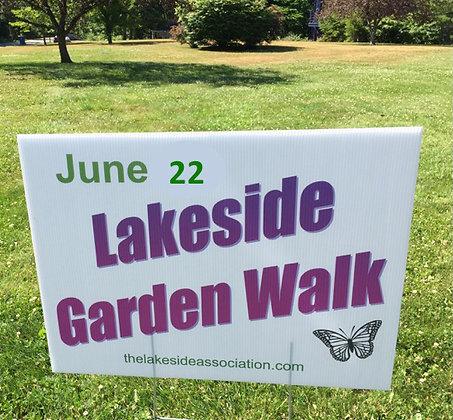 Regular Ticket - 2019 Lakeside Garden Walk