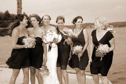 girls at dock