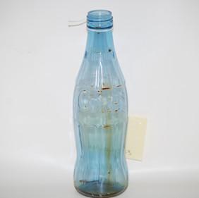 ~1960s/1970s - Experimental Monsanto Plastic Blue Bottle